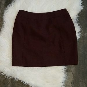 Above the knee pencil skirt